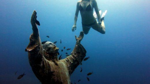 Христос на дне моря