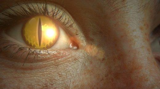 глаз человека-ящера