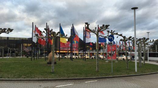 флаги стран-участниц в выставке Провайн