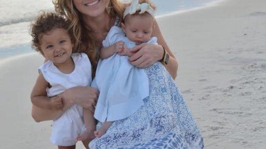 Кэти с двумя приёмными детьми