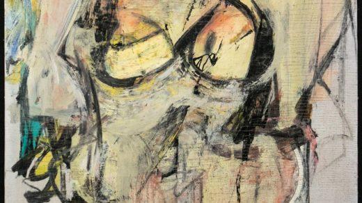 """Картина Виллема де Кунинга """"Женщина-Охра"""""""