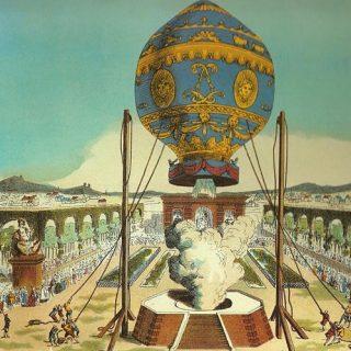 Воздушный шар шар братьев Монгольфье