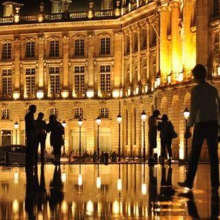 город Бордо во Франции фото