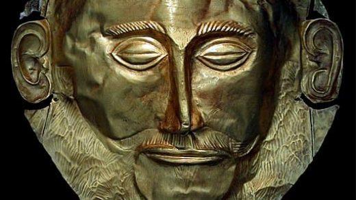 маска Агамемнона фото