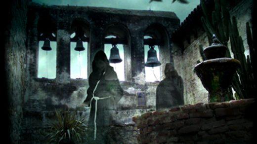 Привидения и призраки в Сан-Хуан-Капистрано в Калифорнии