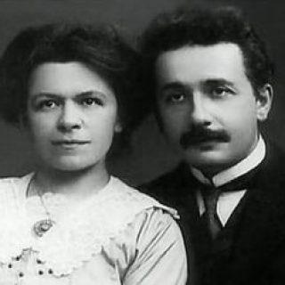Милева Марич и Альберт Эйнштейн