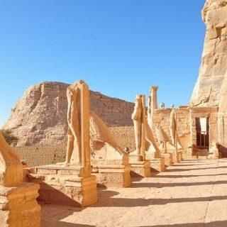 Скальный храм Абу-Симбел фото