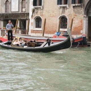 катание на гондоле в Венеции